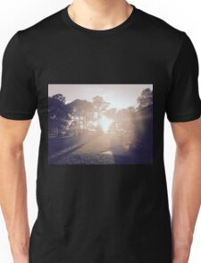 Sunset at the Park Unisex T-Shirt