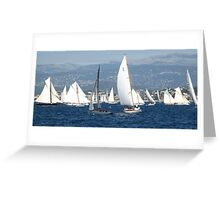 FROM THE SEA TO THE LAND, FROM THE LAND TO THE SEA.CANNES-FRANCIA -EUROPA- All rb Group of Boats and Sailing lovers -  VETRINA RB EXPLORE 16 OTT.2012 Greeting Card