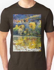 Autumn San river Unisex T-Shirt