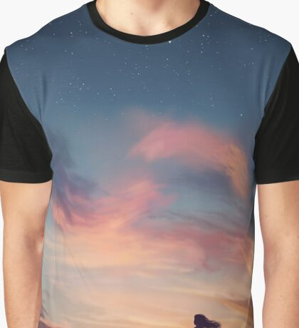 Painted Skies Graphic T-Shirt