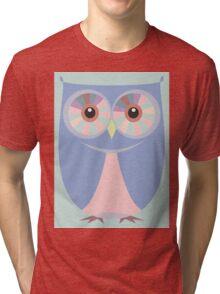 A BLUE OWL Tri-blend T-Shirt