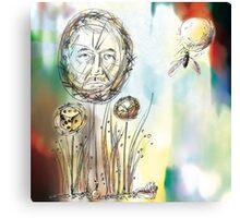Thought Bubbles Canvas Print