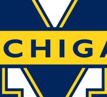 "University of Michigan ""M"" Sticker"