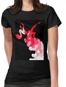 "Art Deco Design by Erte ""Reflections"" Womens Fitted T-Shirt"