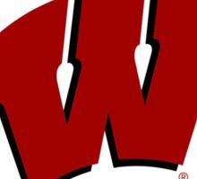 University of Wisconsin logo Sticker