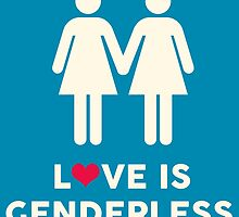 Love Is Genderless - Two Women by supremeT