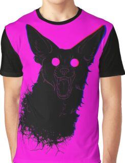 The Dog Bites Back Textless Graphic T-Shirt