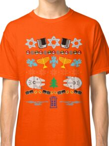 An Ugly 8 Bit Hanukkah Classic T-Shirt