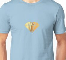 Cheap Gold Diamond Unisex T-Shirt