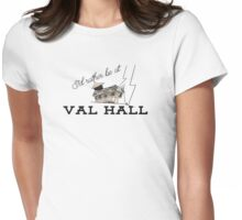 Val Hall Womens Fitted T-Shirt