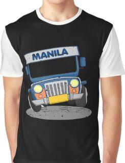 Philippine Jeepney cartoon Graphic T-Shirt
