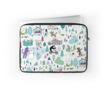Alpine Animal Antics - original Laptop Sleeve