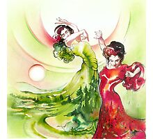 Dance of the Earth Photographic Print