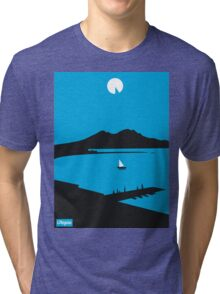 Moon Island - Utopia Tri-blend T-Shirt