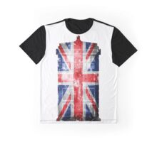Tardis Union Jack Graphic T-Shirt