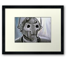 Dr Who Villains No.6 :Cyberman Framed Print