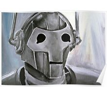 Dr Who Villains No.6 :Cyberman Poster