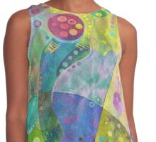 Abstract intersection painting - 2014 Contrast Tank