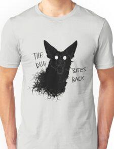 The Dog Bites Back Greyscale Unisex T-Shirt