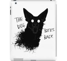 The Dog Bites Back Greyscale iPad Case/Skin