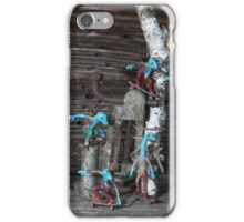 Micro-Dino Skateboarders series (#10) iPhone Case/Skin