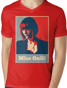 Miss Quill Mens V-Neck T-Shirt