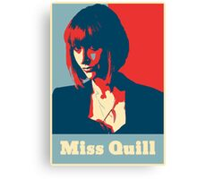 Miss Quill Canvas Print