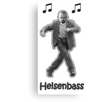 Heisenbass Canvas Print