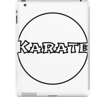 Karate Bubble iPad Case/Skin