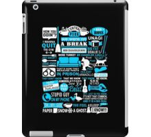 All in one Friends QUOTES T shirt  iPad Case/Skin
