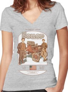 DOLLOP We Sign Cars (t-shirt) Women's Fitted V-Neck T-Shirt