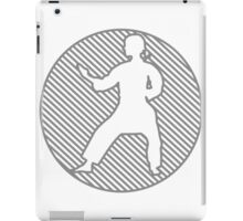 Karate Girl iPad Case/Skin