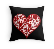 Valentines day hart 2 Throw Pillow