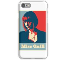 Miss Quill Scar iPhone Case/Skin