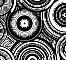 EP. DANCE WITH VINYL Sticker