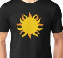Day and Night : Sun and Moon : Geometric : Matching Couple Friend Tribal Print Unisex T-Shirt