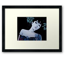 Perfect Blue - Mima Framed Print