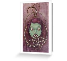 Tongue Tied Greeting Card