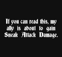 Sneak Attack One Piece - Short Sleeve