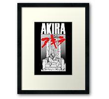 Akira Tetsuo Throne - Black Ed. Framed Print