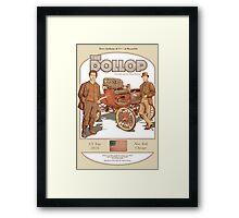 DOLLOP We Sign Cars (poster) Framed Print