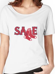 Chris Sale Red Sox Shirt Women's Relaxed Fit T-Shirt