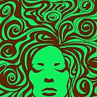 60s Psychedelic Green by khuship