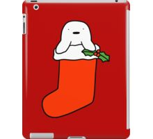 Christmas Stocking Harp Seal iPad Case/Skin