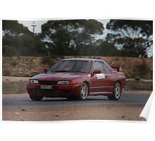 Oz Gymkhana #35 R32 Nissan Skyline GTR Poster