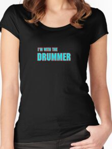 I'm Drummer Women's Fitted Scoop T-Shirt