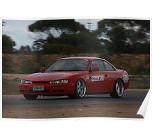 Oz Gymkhana #24 Nissan 200SX Poster