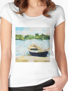 Summer Boat Women's Fitted Scoop T-Shirt