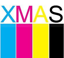 CMYK XMAS CARD by khuship