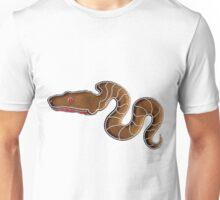Chinese Zodiac Gingerbread Snake Unisex T-Shirt